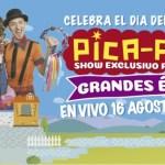 PARTICIPA POR ENTRADAS PARA EL EXCLUSIVO SHOW ONLINE DE LOS PICA PICA POR EL DÍA DEL NIÑO
