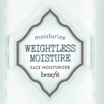 b.right Weightless Moisture : Crema hidratante facial ultraligera de 24 horas, con protección solar SPF 15 PA ++