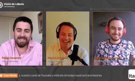 """""""Visión de Líderes"""" de Itaú: César Antonio Campos entrega consejos para emprender y usar las redes sociales a tu favor"""