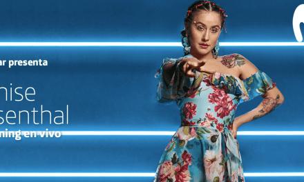 Movistar Arena presenta a Denise Rosenthal en su primer streaming interactivo y en vivo