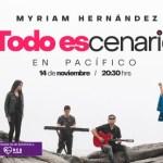 Myriam Hernández sorprende con ((Todo Escenario)) por streaming a orillas del Pacífico