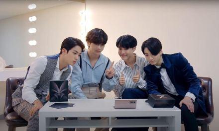 Súper dupla coreana: BTS realiza unboxing de Galaxy Z Fold2