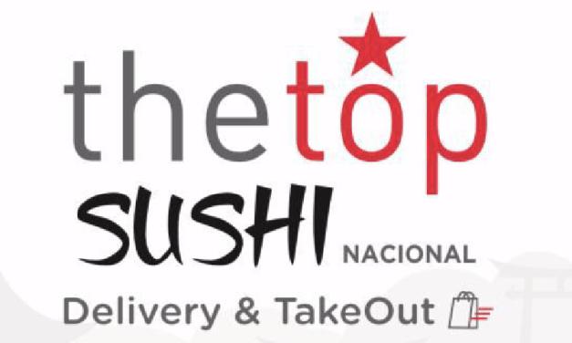 """SE VIENE LA SEGUNDA VERSIÓN DE """"THE TOP SUSHI"""" A NIVEL NACIONAL Y ESTE AÑO A $2.990 CADA ROLL!!"""