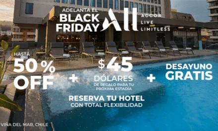 Accor inicia campaña por Black Friday con descuentos de hasta el 50% en sus hoteles