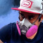 Anstylo, reconocido grafitero chileno da clases gratuitas en Fundación Centro Cultural Lo Prado