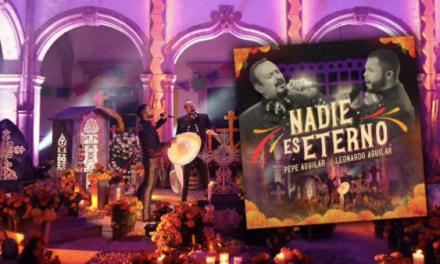 """Pepe Aguilar y Leonardo Aguilar unen sus voces en """"Nadie es eterno"""""""