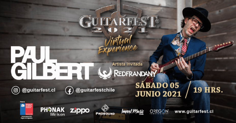 GUITARFEST VIRTUAL EXPERIENCE 2021 / PAUL GILBERT