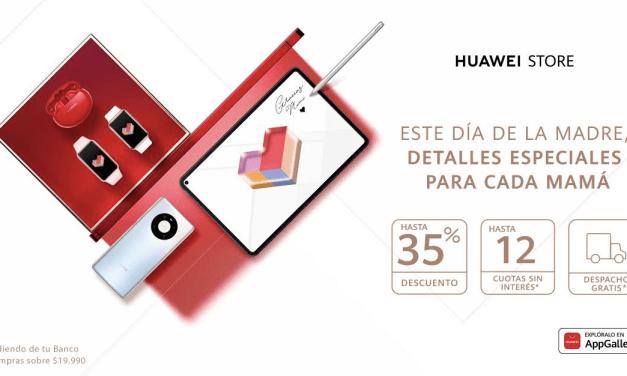 Celebra el Día de la Madre con estas espectaculares ofertas de Huawei
