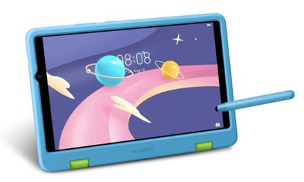 En la MatePad T10 Kids Edition los niños pueden explorar su propio rincón lleno de magia