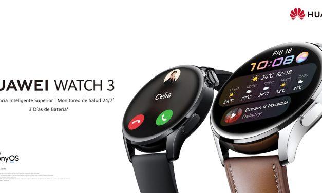 Combina la aplicación HUAWEI Salud con el  HUAWEI Watch 3 para monitorear tus hábitos de sueño