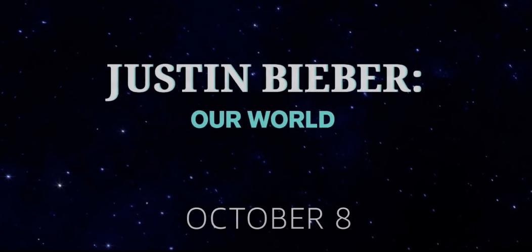 Amazon Studios estrenará JUSTIN BIEBER: OUR WORLD globalmente en Amazon Prime Video el 8 de octubre de 2021