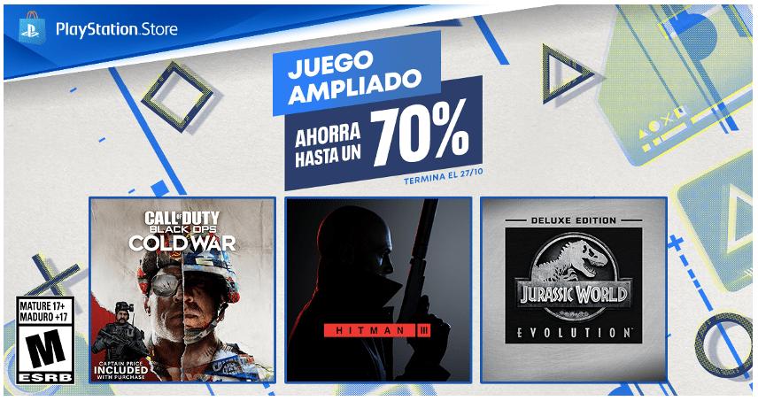 """PlayStation anuncia la promo """"Juego Ampliado"""" con descuentos especiales en versiones deluxe de una increíble variedad de juegos"""