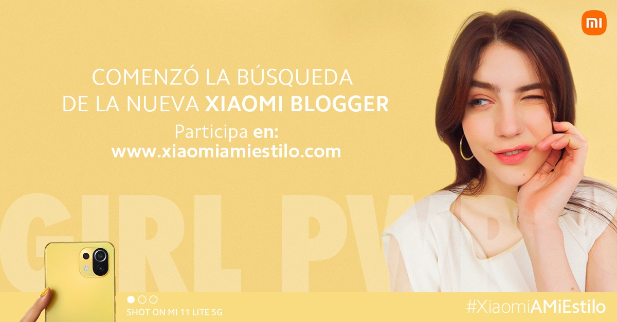 Comienza la búsqueda de la próxima Xiaomi Blogger en América Latina