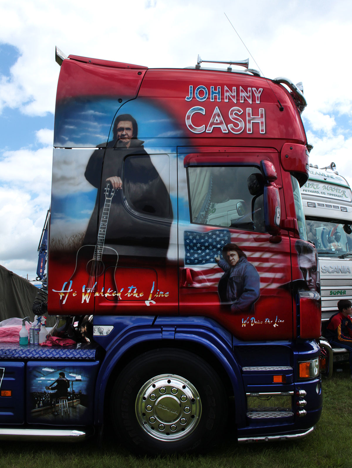 Johnny Cash at The Ossory Truck