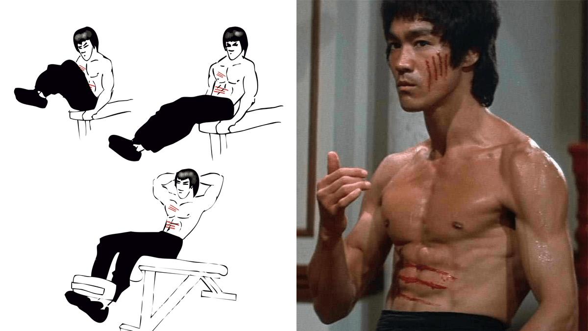 Consigue los Secretos del Abdomen de Bruce Lee
