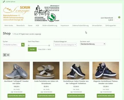 Neuer Webshop online