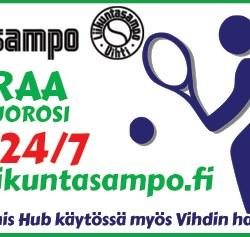 Tervetuloa pelaamaan tennistä