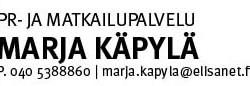 PR-ja Matkailupalvelu Marja Käpylä