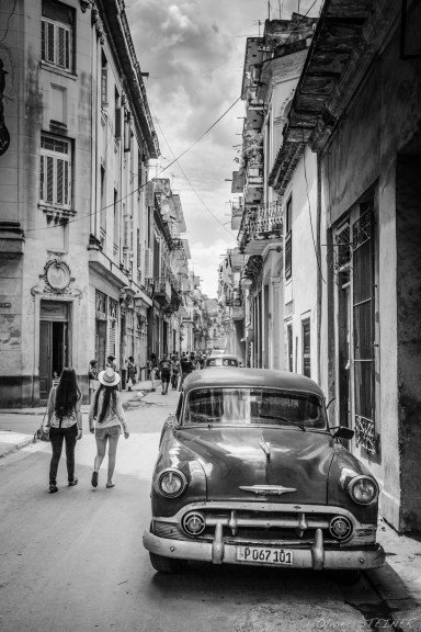 Hanging out in La Habana Vieja