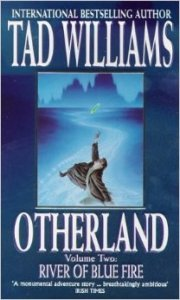 "Cover of River of Blue Fire, second volume of ""Otherland""."
