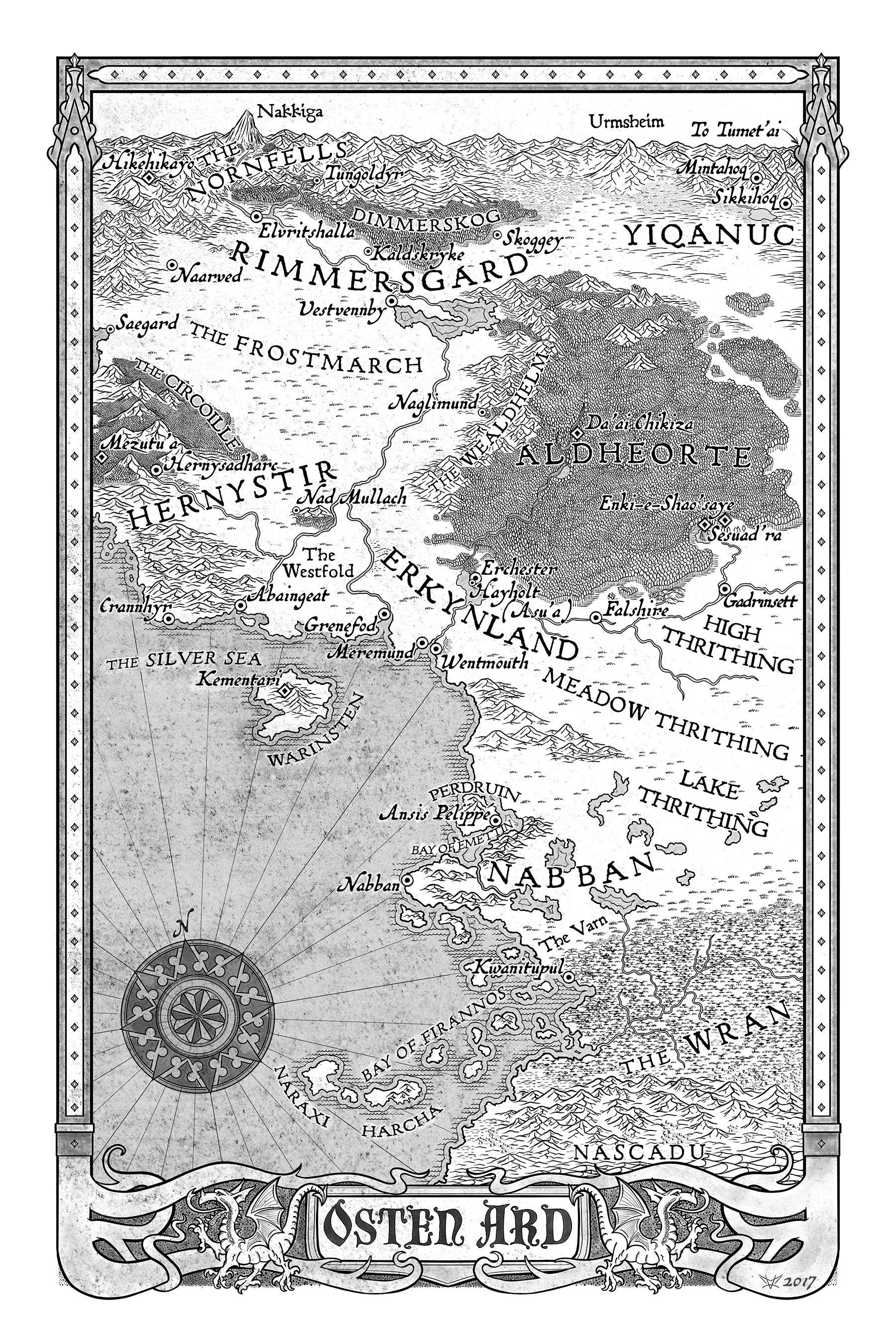 Marvelous Merch of Osten Ard and Otherland  Treacherous