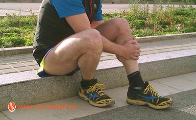 Periostitis tibial: ese dolor en la tibia que aparece al correr y nos obliga a parar