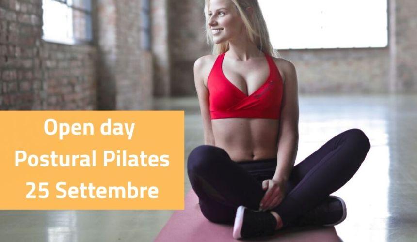 Prenota la tua lezione prova di Postural Pilates