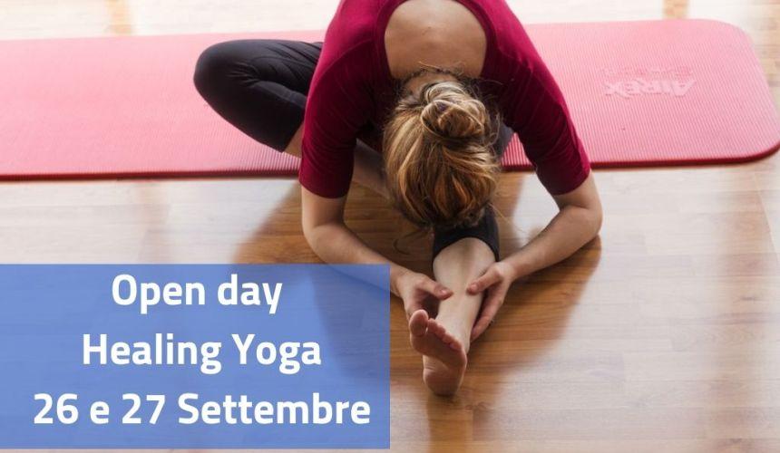 Open day Healing Yoga