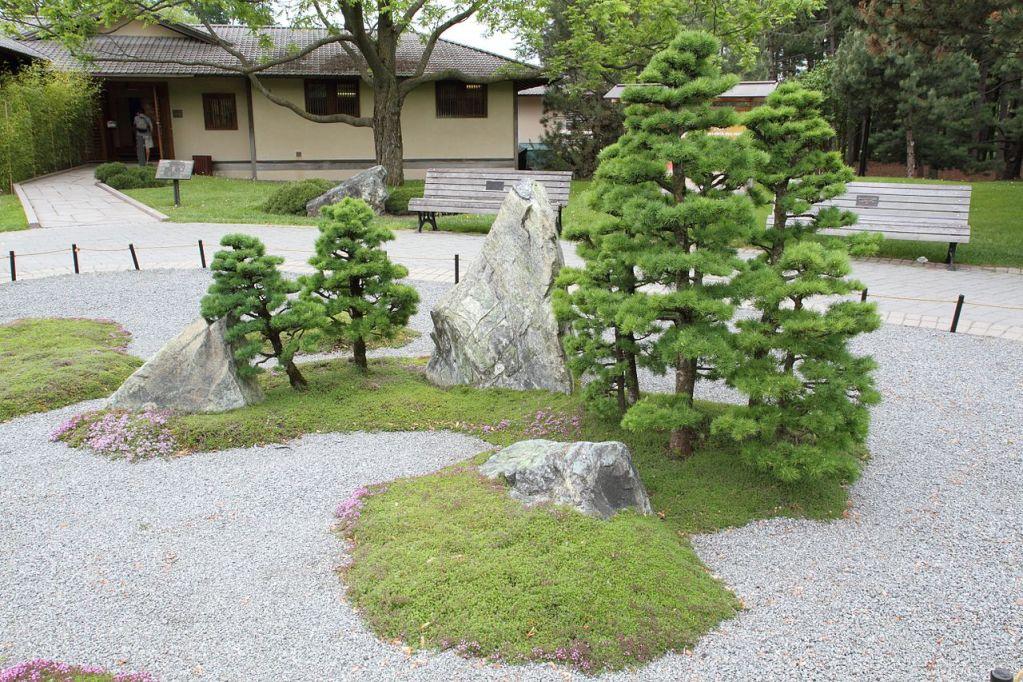 Exemple de Jardin japonais