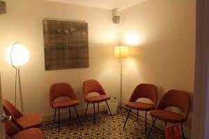 Consultation cabinet ostéopathie montpellier Julien Moreno