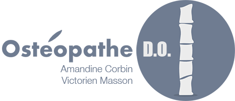 Amandine CORBIN et Victorien MASSON, Ostéopathes D.O. à Campagne-Lès-Hesdin et Stella-Plage Logo