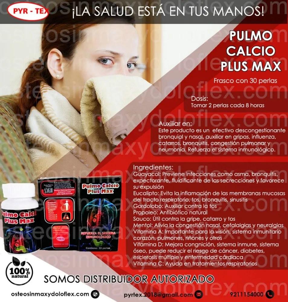 pulmo calcio plus PYRTEX