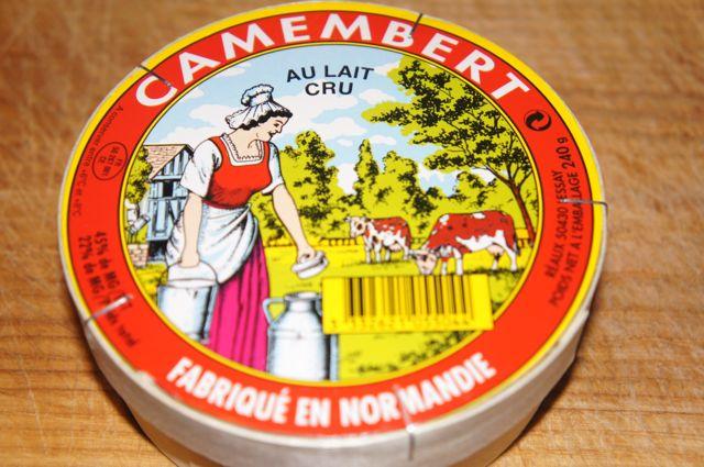 Camember au lait cru