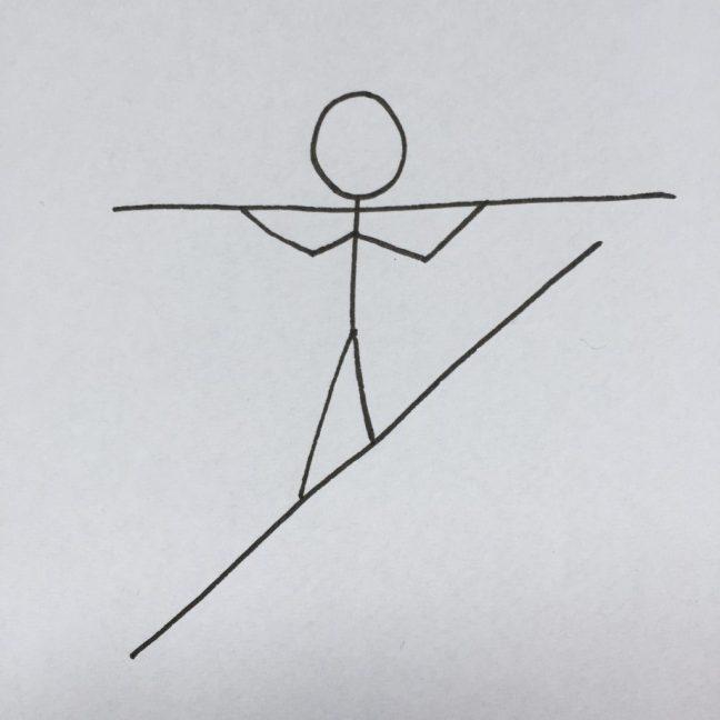 Om att hantera stress och bygga upp motståndskraft. Balans eller tilting?
