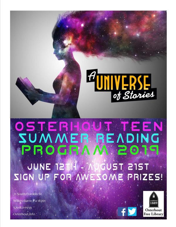 2019 Summer Reading Flyer Osterhout Free Library