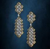 Buccellati Rombi Earrings at Oster Jewelers