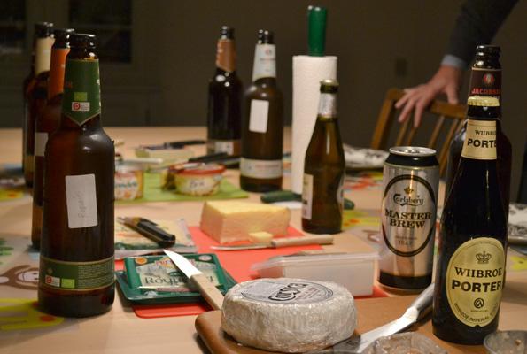 Hvilken øl passer bedst til hvilken ost?