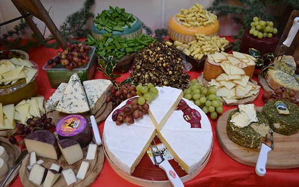 Det flotteste ostebord