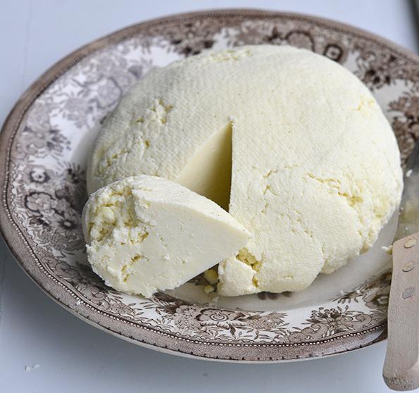 Hjemmelavet ost