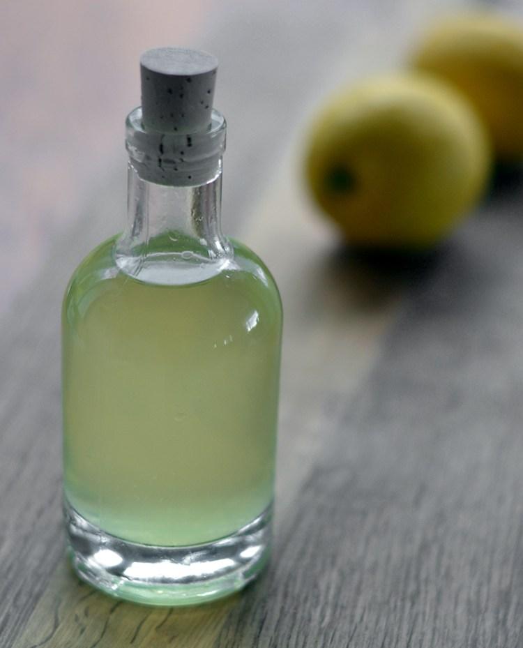 Citronsnaps til påskens oste