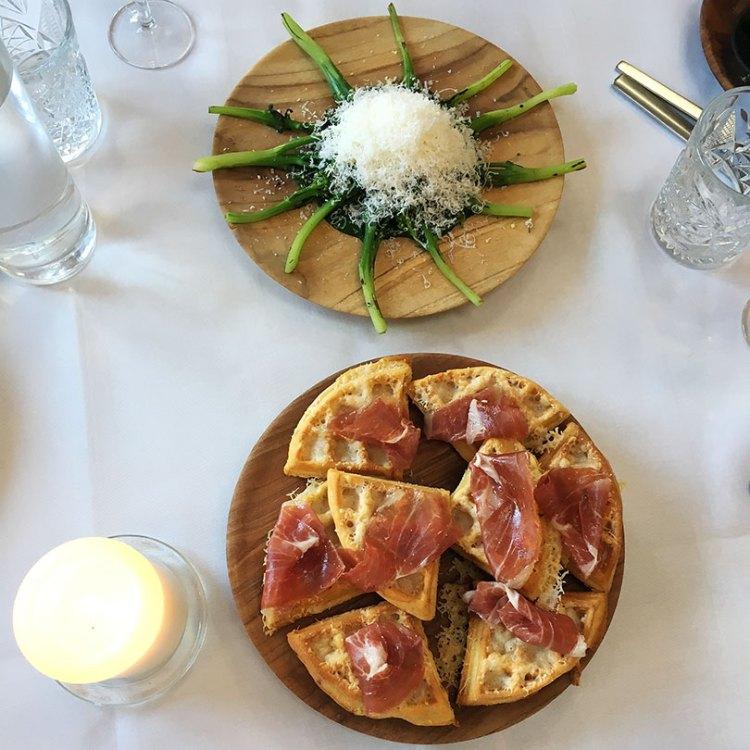Retter med parmesan