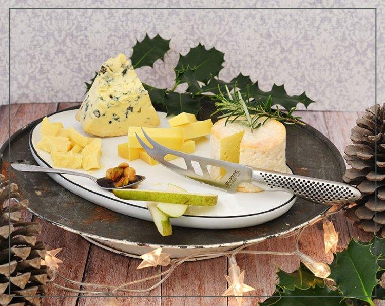 Global ostekniv og ost