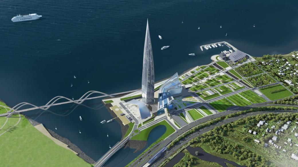 Lachta-Center: Erster Wolkenkratzer in Sankt Petersburg