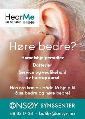 HearMe Onsøy nettannonse