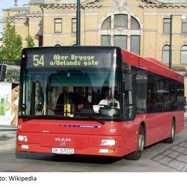 Sporveisbussene18. juni 2005 Foto: Wikipedia