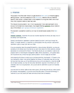 Task order manual template page 1