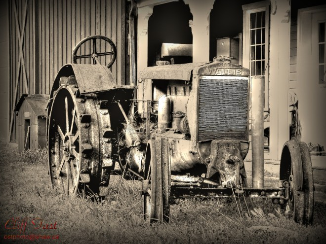 An old Wallis tractor.