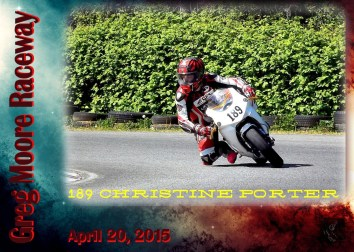 Race Card 189 Christine Porter-1