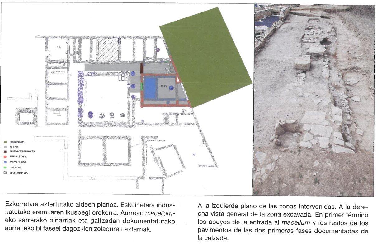 Iruña Veleia Arkeoikuska 2016 Macellumcontrol 4