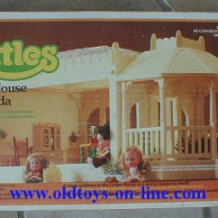 """Ebay Rocking Chair Hickory Leather Couch Mattel's """"the Littles"""" 1980 Dollhouse """"a Wonderful World Of Dolls And Fun ..."""